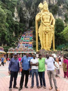 Visite touristique pendant la formation en contrôle et audit des marchés publics