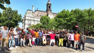 Visite touristique pendant la formation en Leadership, rôles et responsabilités du gestionnaire