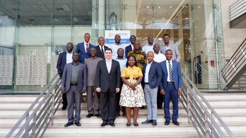 Photo officielle de la formation en Management des Partenariats Public-Privé (PPP)