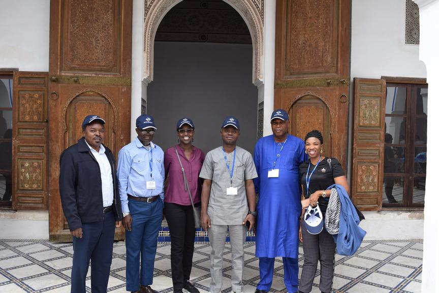 Visite touristique pendant la formation en Analyse et interprétation des états financiers des entreprises publiques et parapubliques