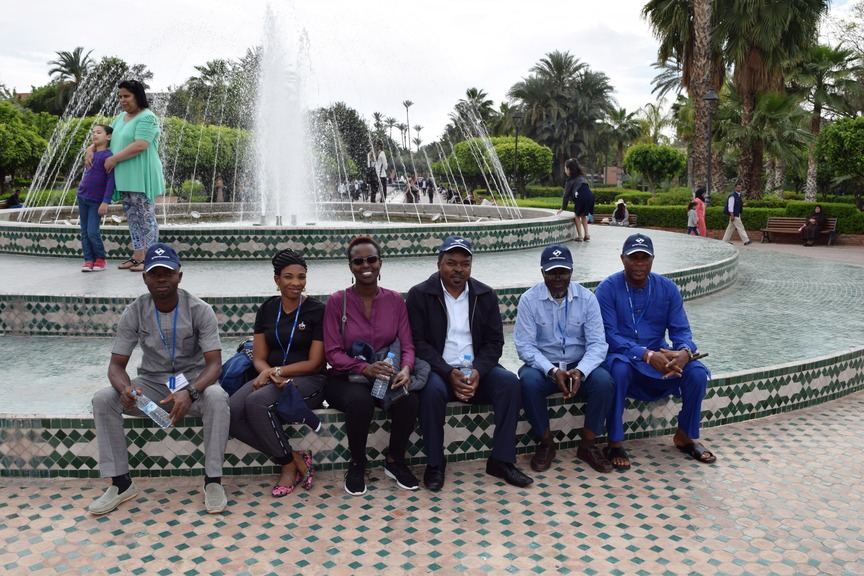 Sightseeing tour during the Training Seminar on Monitoring and Evaluation for Results