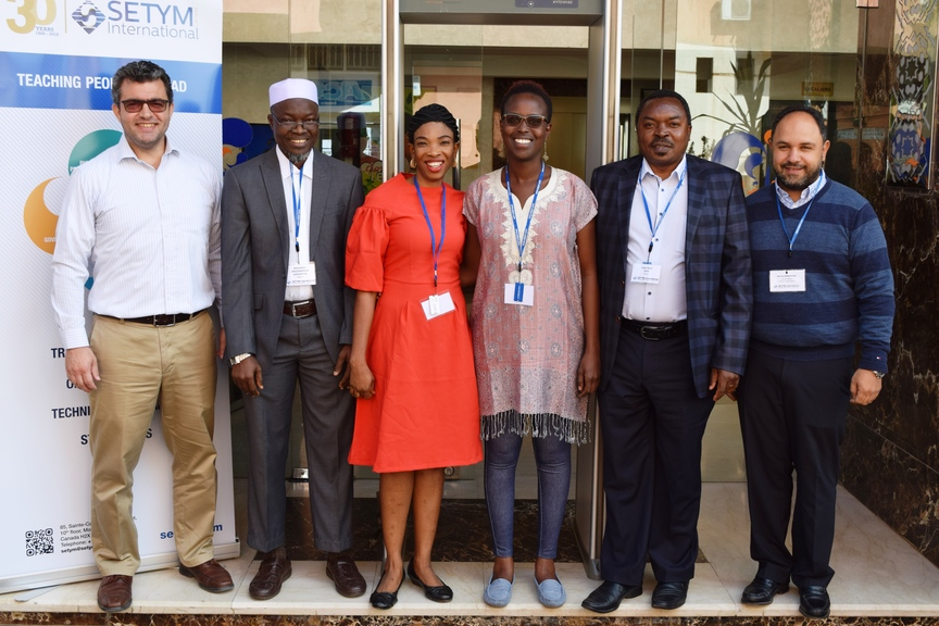 Official photo of the Training Seminar on Monitoring and Evaluation for Results