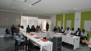 Class photo during the Training Seminar on Project Management, Monitoring and Control