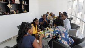 Pause déjeuner pendant la formation en Gestion de projet, planification et contrôle